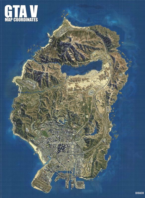 GTA V - Map Coordinates