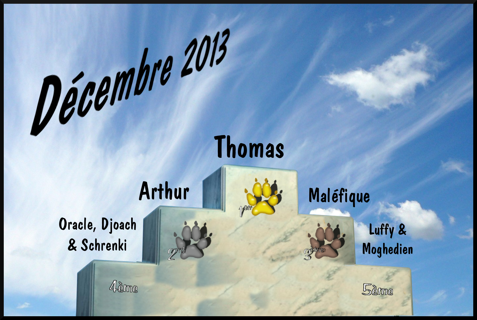 Les traces de pattes Podium_decembre2013
