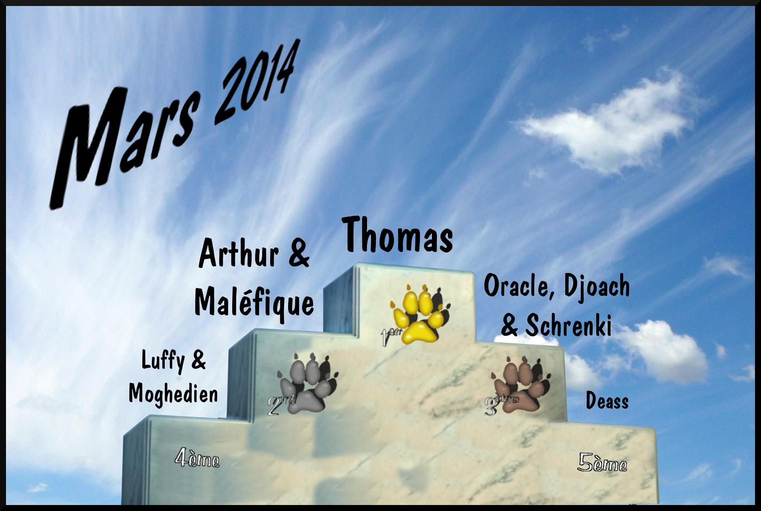 Les traces de pattes Podium_mars2014